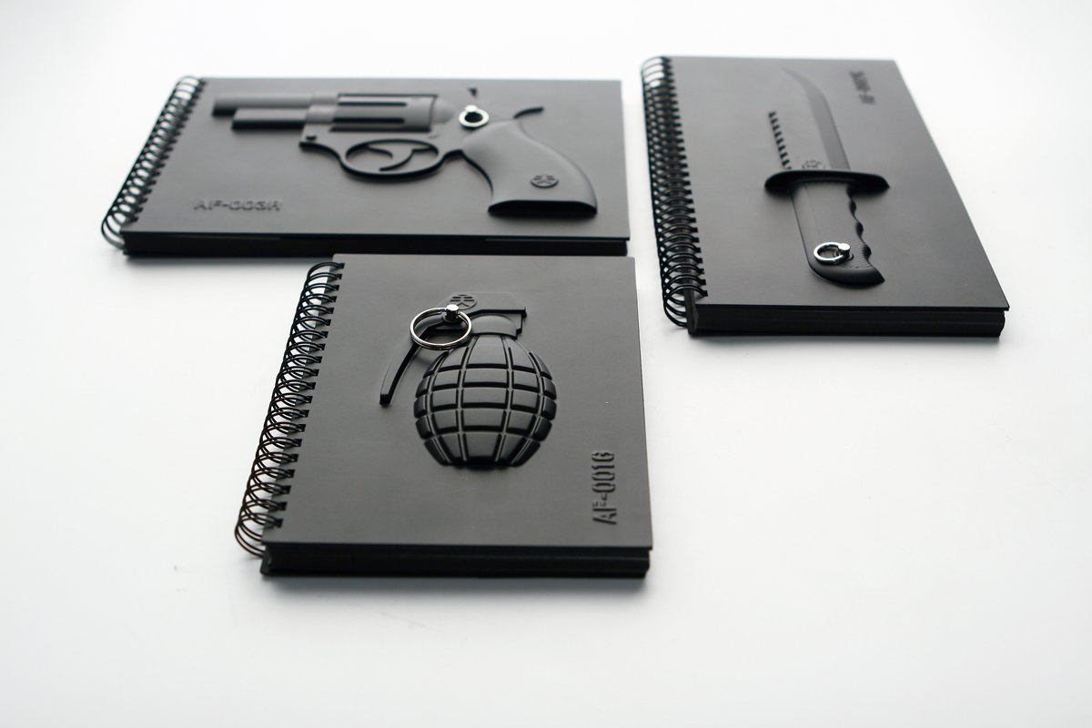 Armed Notebook – Grenade-22785