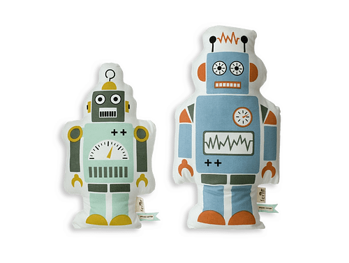 Robot Decorative Pillows by Ferm Living-0