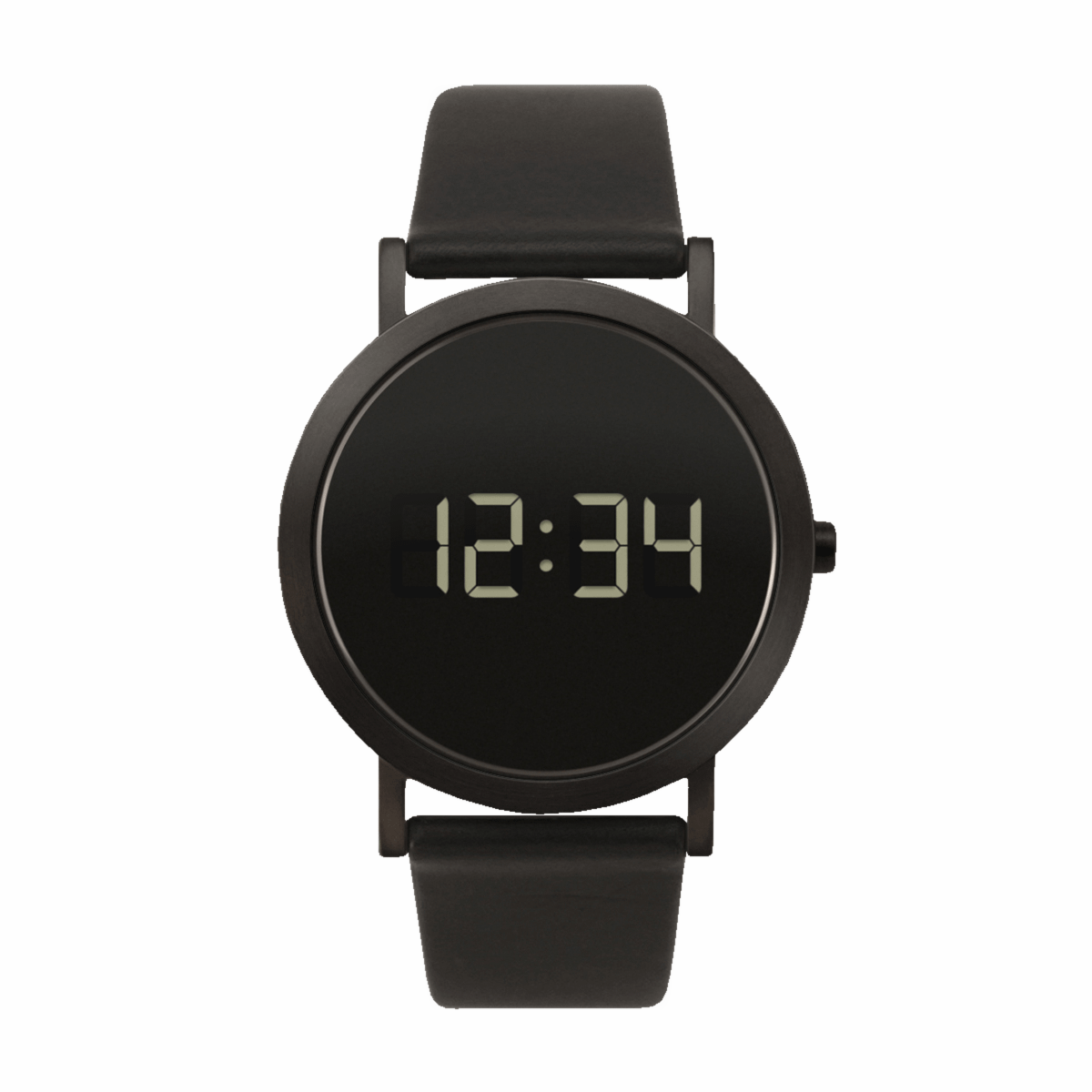Extra Normal Digital Grande, Black IP Stainless Steel-0