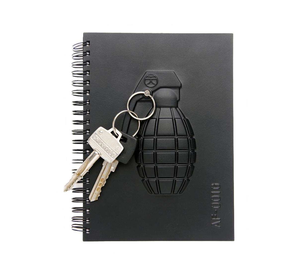 Armed Notebook – Grenade-0